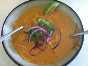 Khao Soi, completed